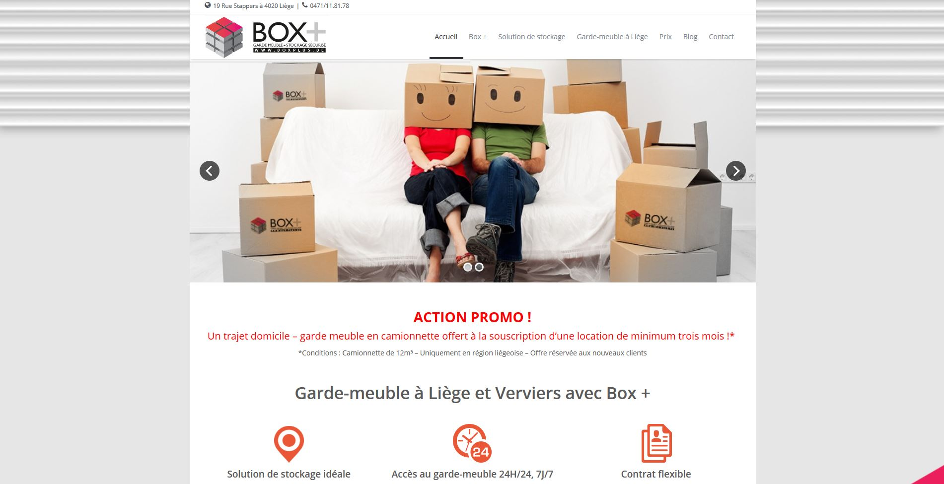 Box+ : location box de stockage